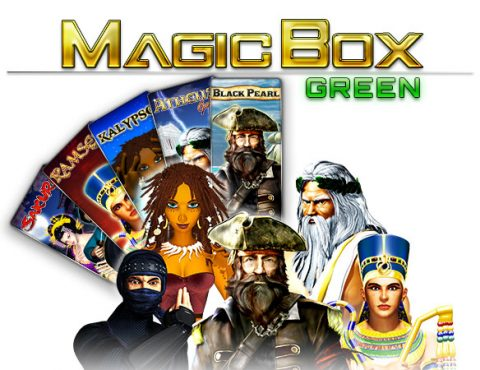 Disponibile Magic Box Green
