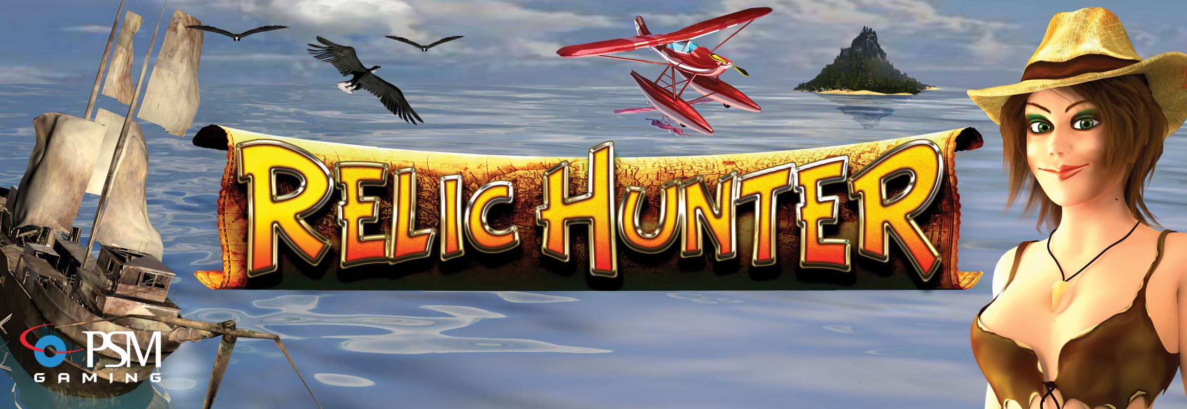 Relic hunter slot machine
