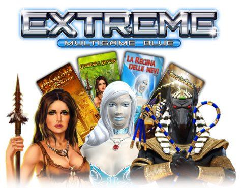 PSM Gaming lancia a Enada il nuovo multigioco Extreme Multigame Blue