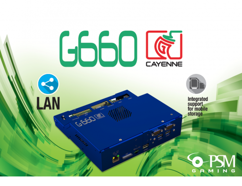 G660 Cayenne is the new complete AWP platform by PSM Gaming