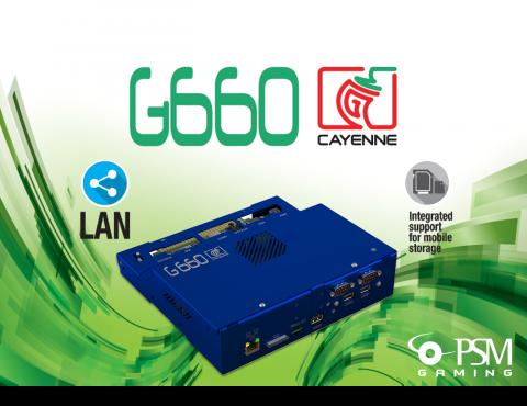 G660 Cayenne è la nuova piattaforma internazionale di PSM Gaming
